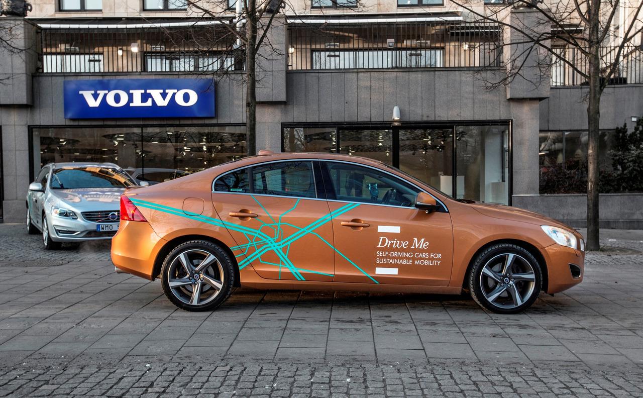 Volvo phát triển xe tự lái