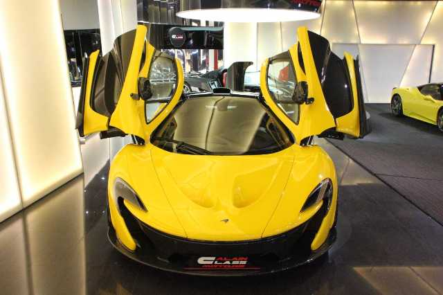 Hàng hiếm McLaren P1 vừa xuất xưởng đã được rao bán