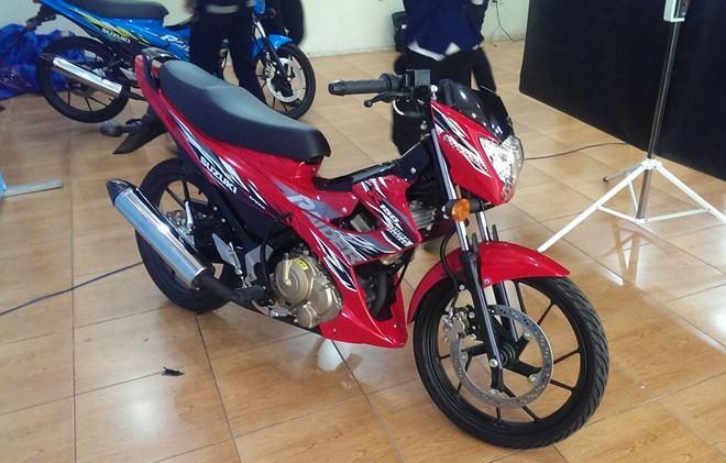 Suzuki Raider 150 bất ngờ ra mắt tại Cần Thơ