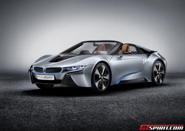 BMW i8 sẽ có phiên bản mui trần