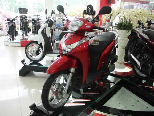 Thị trường xe máy không có Tết