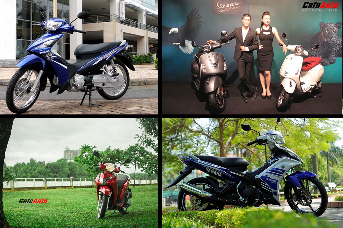 Điểm mặt những mẫu xe máy ra mắt trong năm 2013