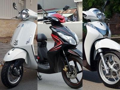 Nhìn lại thị trường xe máy 1 năm mất mùa