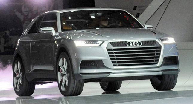 Audi sẽ có thêm hàng loạt xe crossover