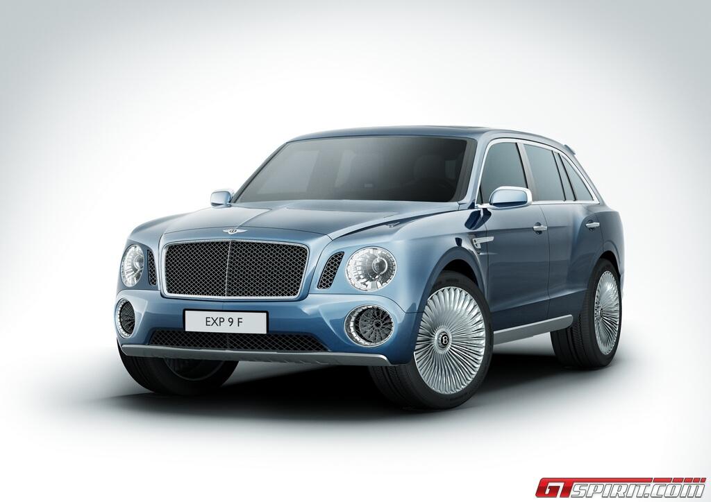 Bentley muốn bán khoảng 3000 chiếc SUV một năm