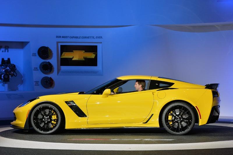 Detroit Auto Show 2014: Chevrolet Corvette Z06 hấp dẫn từ trong ra ngoài