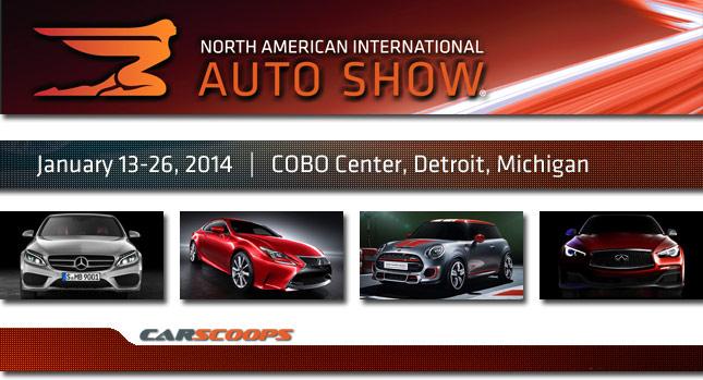 Detroit Motor Show 2014 có gì?