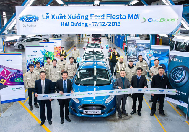 Ford Việt Nam bán được 8.177 xe trong năm 2013