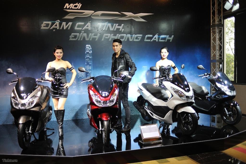 Honda PCX 125 mới giá từ 52 triệu đồng