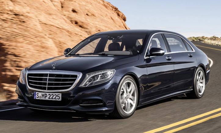 Mercedes-Benz S600 sẽ được trình làng tại Detroit Motor Show 2014