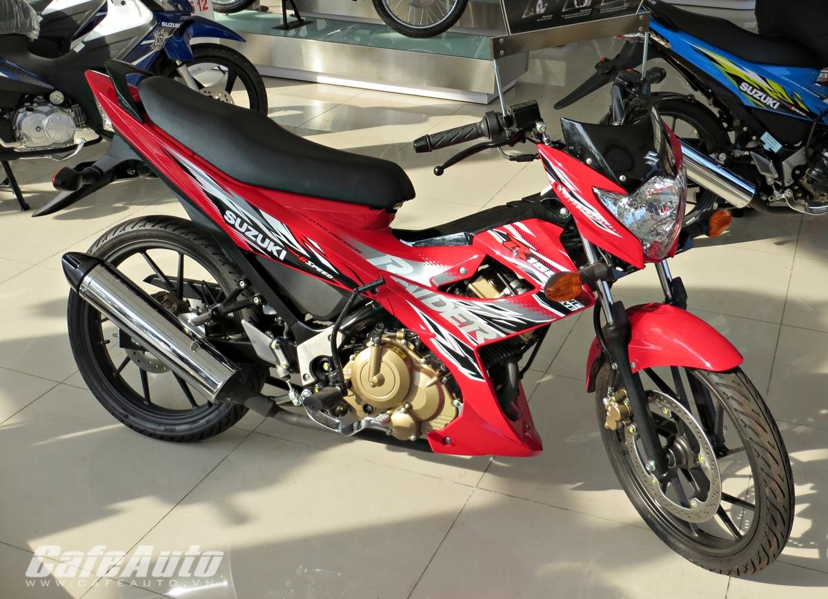 Lý giải cơn sốt mang tên Suzuki Raider