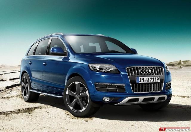 Audi giới thiệu Q7 S-Line và Q7 Sport phiên bản 2014
