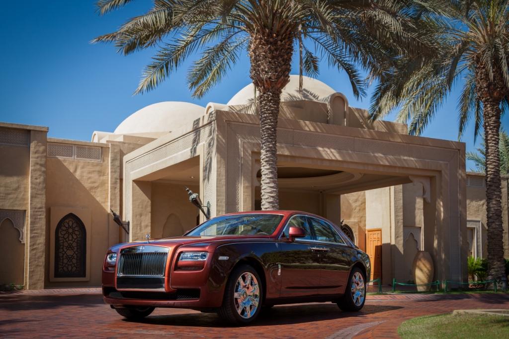 """Rolls-Royce giới thiệu bộ sưu tập """"Nghìn lẻ một đêm"""