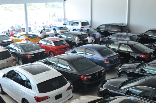 Cấm nhập khẩu ôtô đã sử dụng quá 5 năm