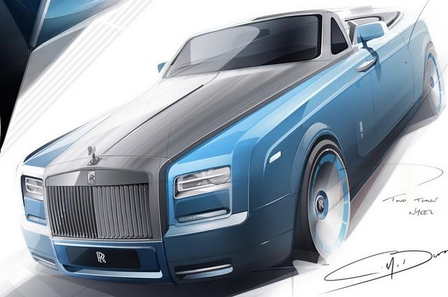 Khách hàng Việt có thể đặt hàng Phantom Drophead Coupe Waterspeed