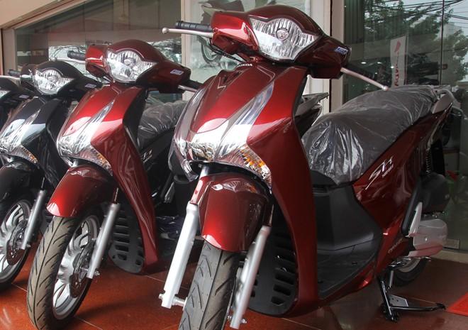 SH nội - dòng xe máy tai tiếng của Honda Việt Nam