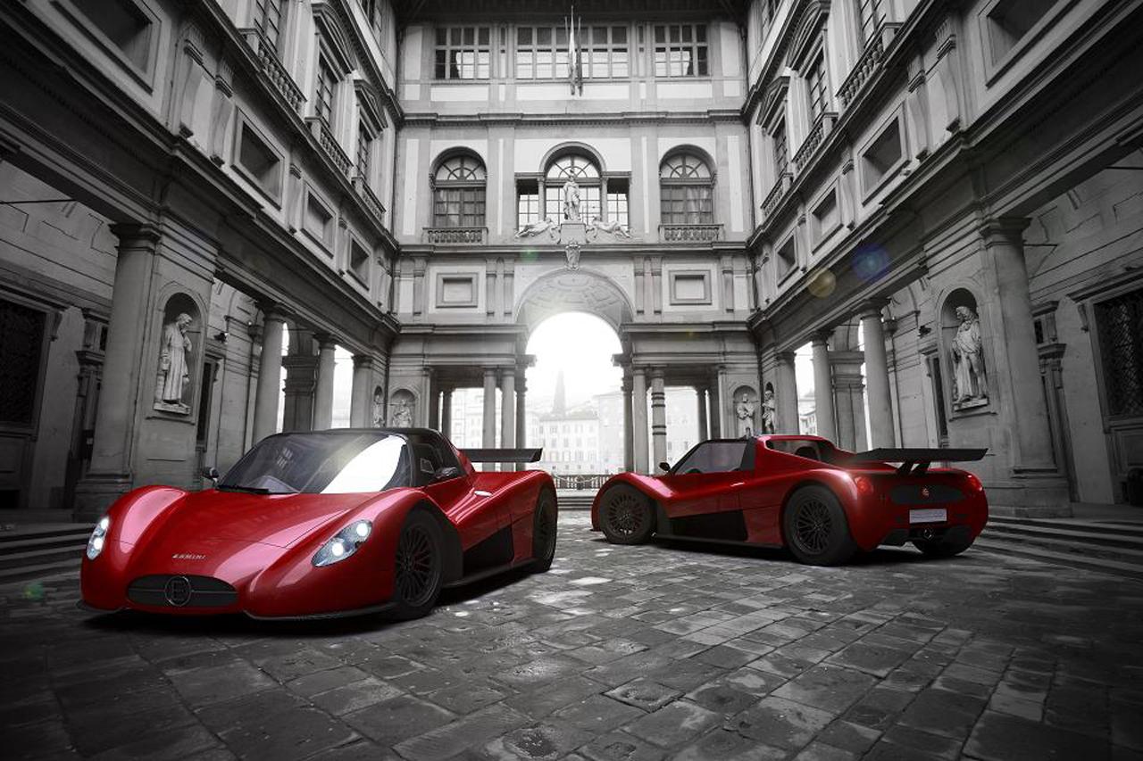"""Xế lạ"" Ermini Seiottosei ra mắt tại Geneva Motor Show"