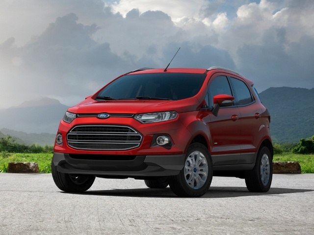 Ford EcoSport sắp được trình làng tại Việt Nam