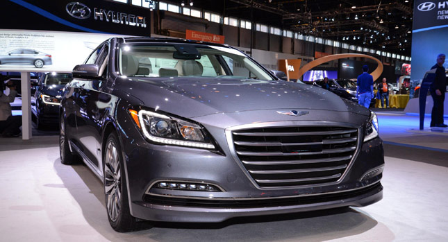 Hyundai sắp tung ra đối thủ của BMW 3-Series