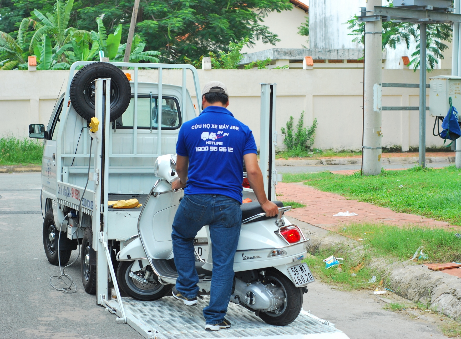 JBR cứu hộ miễn phí cho khách hàng Suzuki World