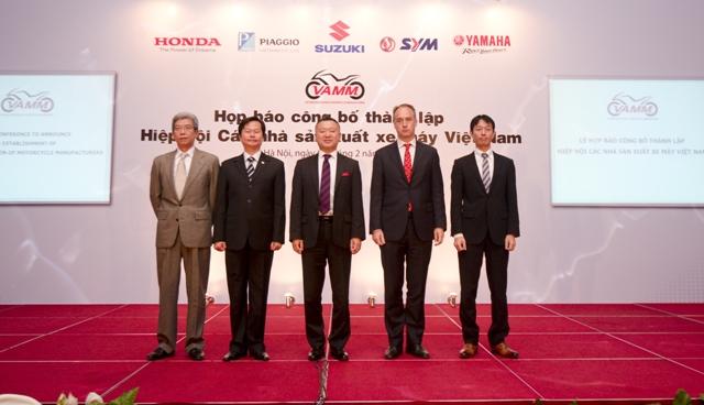 Việt Nam chính thức có Hiệp hội xe máy