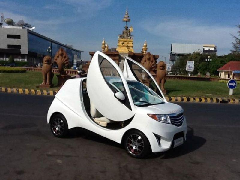 Xe điện Angkor EV – niềm tự hào của Campuchia