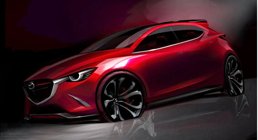 Hazumi Concept bản xem trước của Mazda 2