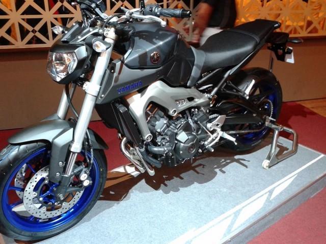 Yamaha MT-09 2014 sắp ra mắt tại Đông Nam Á