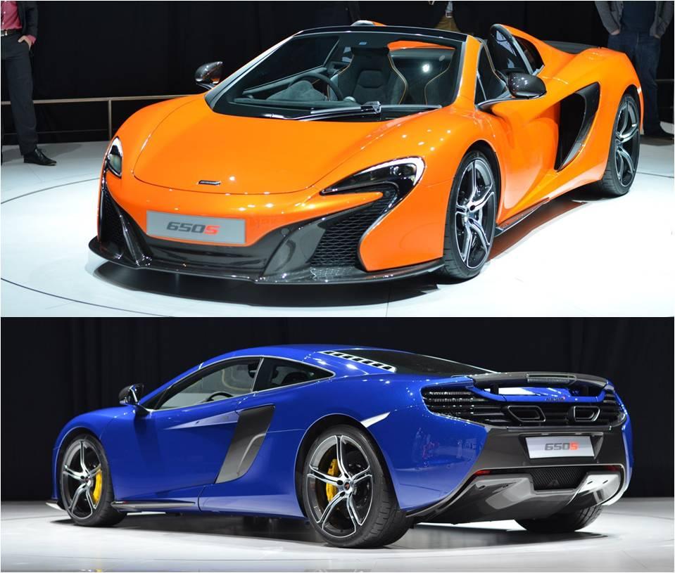 Geneva Motor Show 2014: Bộ đôi McLaren 650S gây sốt tại triển lãm