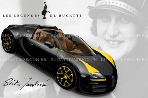 Bugatti Veyron phiên bản huyền thoại thứ 5 lộ diện