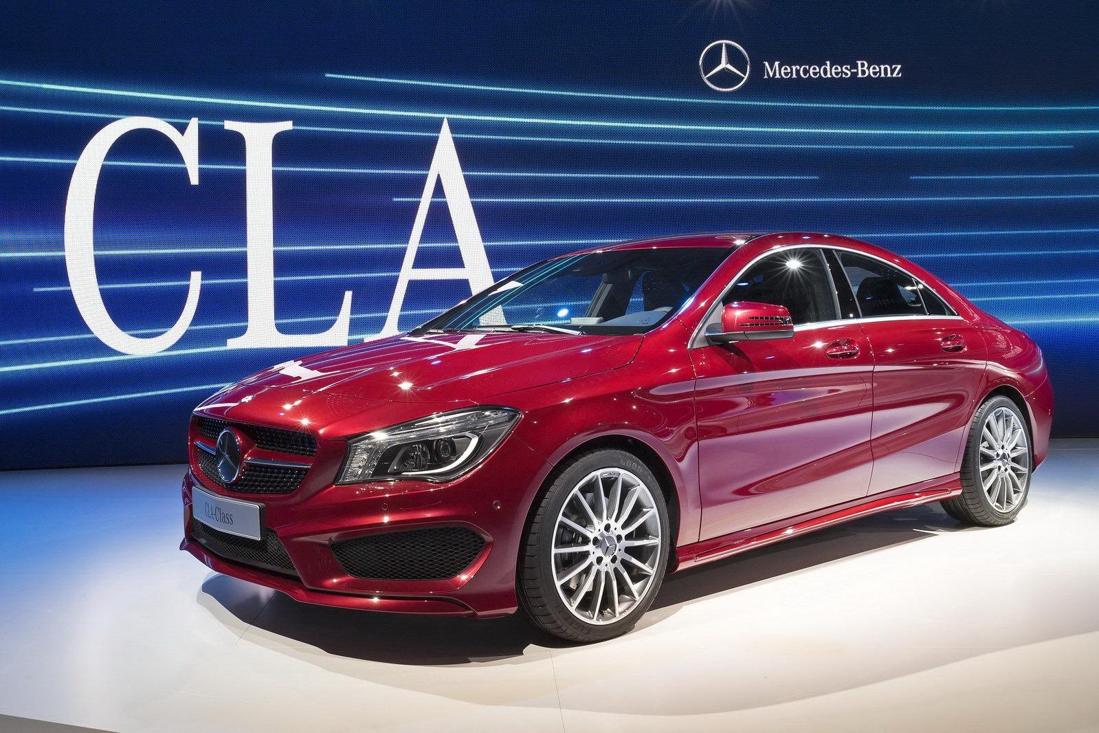 Mercedes-Benz CLA sắp xuất hiện tại Việt Nam