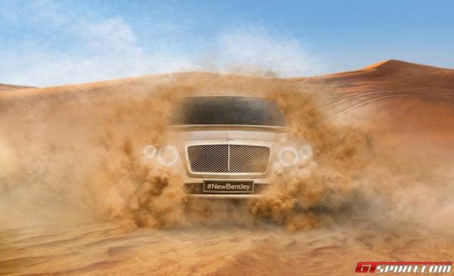 Bentley hé lộ hình ảnh siêu SUV phiên bản sản xuất