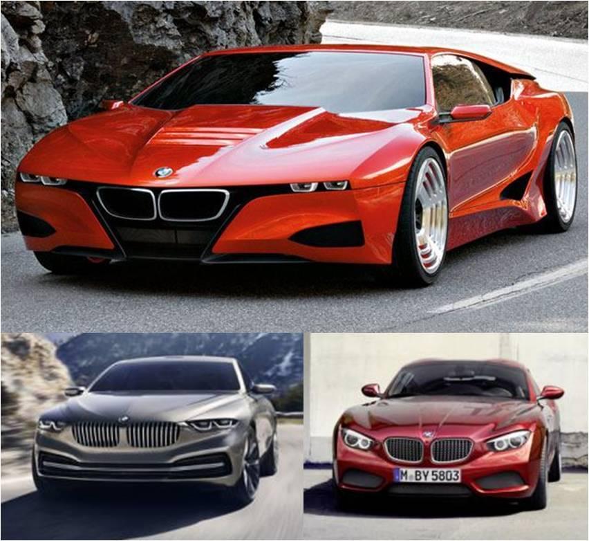 BMW hé lộ hàng loạt mẫu concept hoàn toàn mới