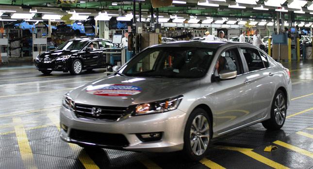 Honda đã sản xuất 20 triệu xe ở Mỹ