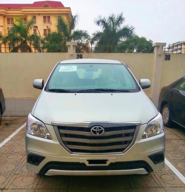 Toyota Innova 2014 bất ngờ xuất hiện tại Việt Nam
