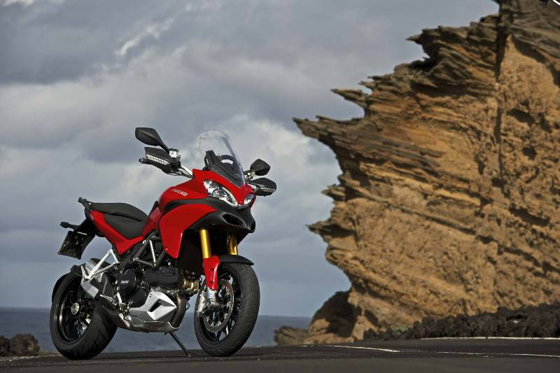 Ducati Multistrada 1200 D – Air tích hợp áo túi khí