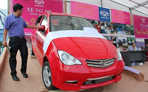 Giấc mơ xe hơi Việt và sự nhỡ nhàng của Vinaxuki VG