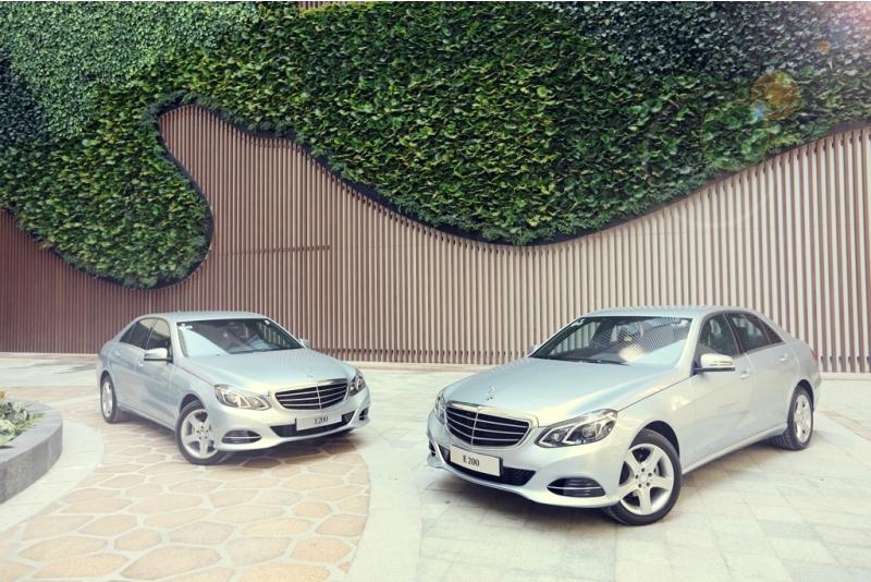 Mercedes-Benz bàn giao xe cho InterContinental Nha Trang