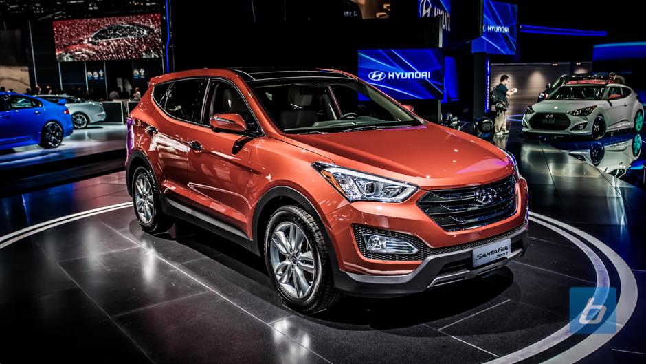 Hyundai giới thiệu Santa Fe 2014