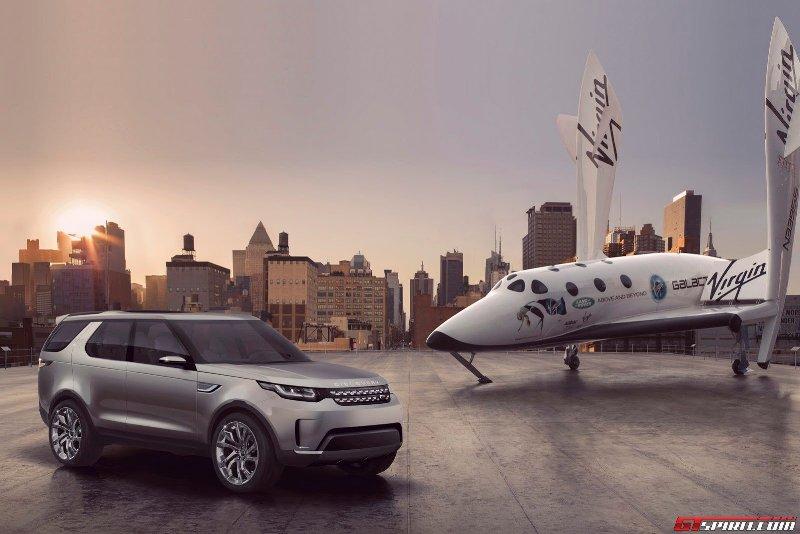 Land Rover Discovery Vision Concept ra mắt cực đỉnh trên tàu sân bay Mỹ