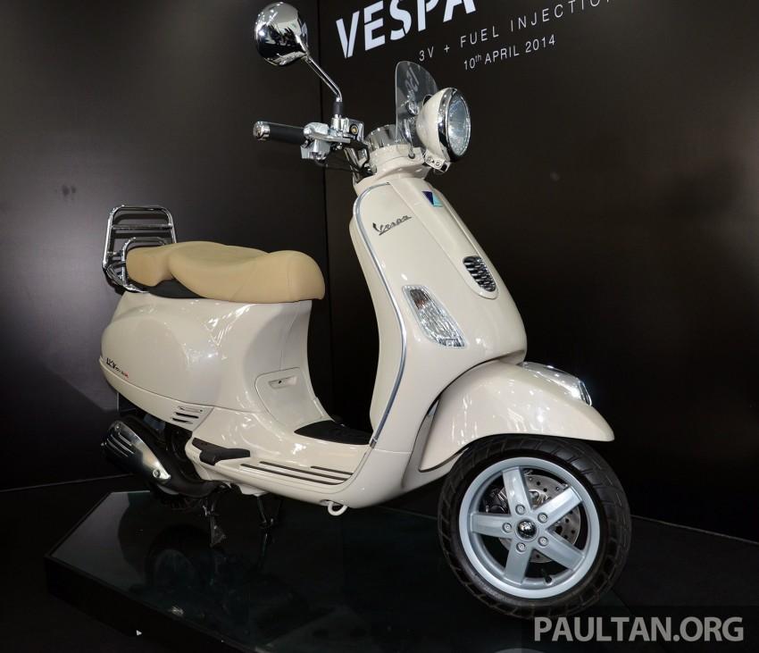 Vespa LXV 150 3V made in Việt Nam ra mắt trên đất Malaysia