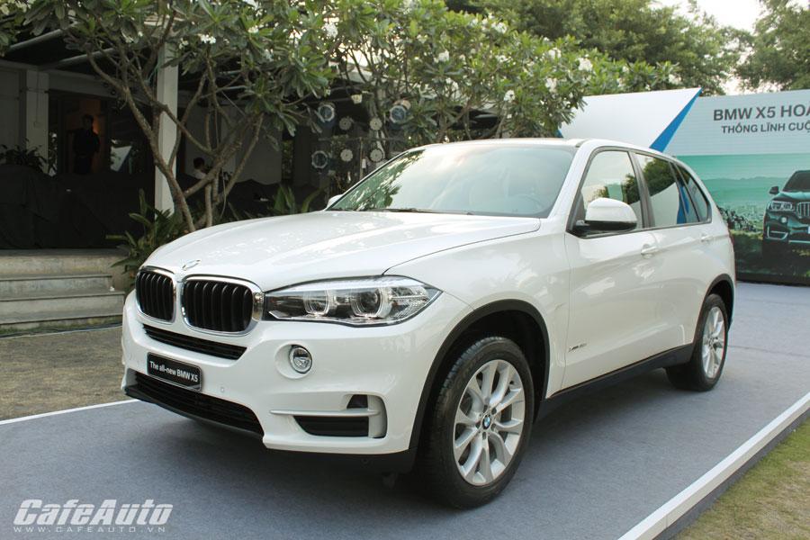 BMW X5 thế hệ mới ra mắt giá từ 3,648 tỷ đồng