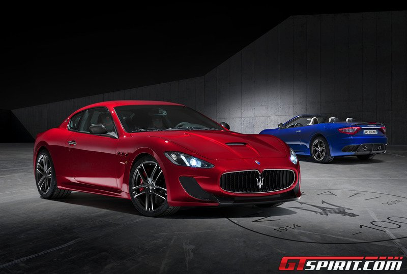 Maserati giới thiệu siêu xe GT MC Centennial