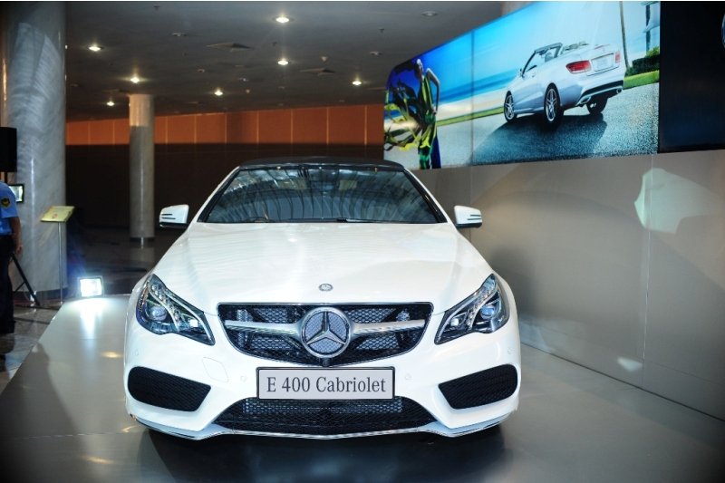 Mercedes-Benz Việt Nam vén màn E 400 Cabriolet