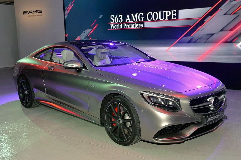 New York Auto Show 2014: Mercedes-Benz S63 AMG Coupe 2015 chính thức ra mắt