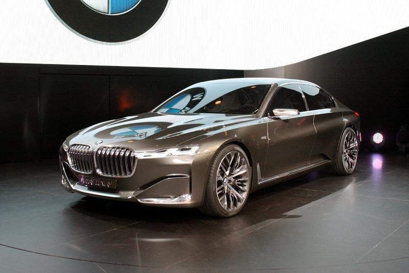 Ngắm trước mẫu BMW 9 Series Concept