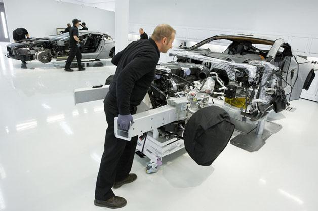 Aston Martin phát triển khung gầm xe thể thao mới