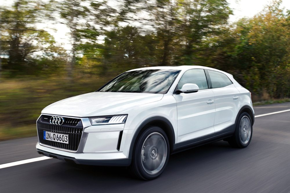 Audi tiếp tục xây dựng Q9 loại bỏ xe nhỏ hơn A1