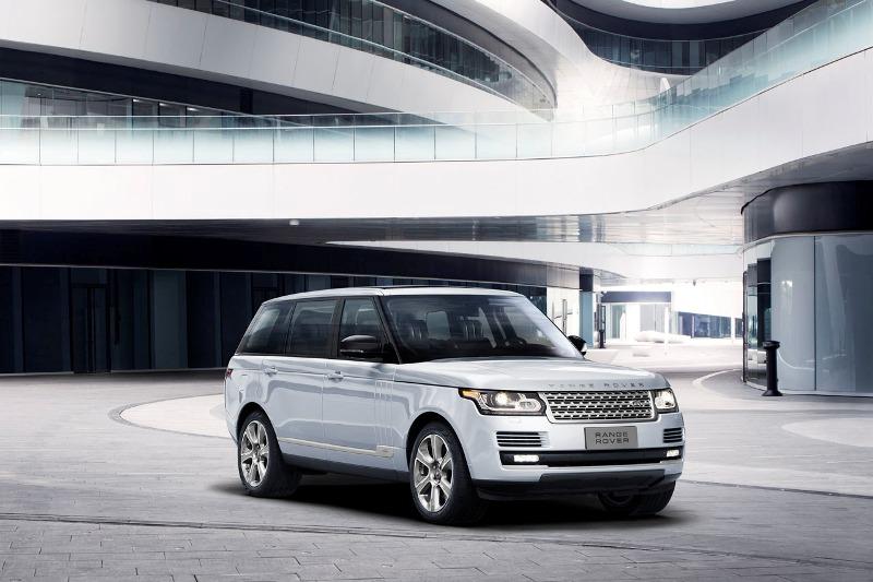 Land Rover hybrid khung gầm dài ra mắt ở Trung Quốc