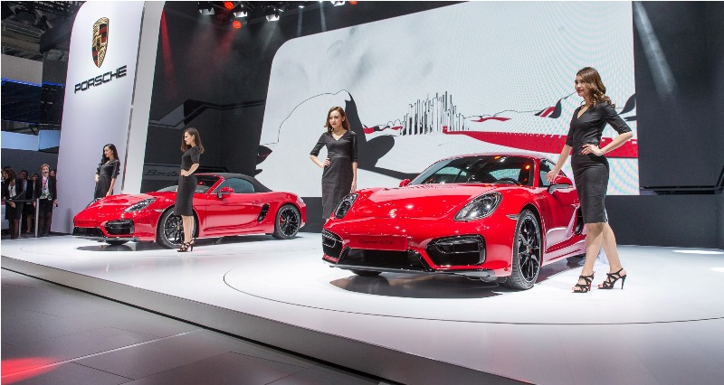 Porsche tỏa sáng tại triểm lãm Bắc Kinh 2014